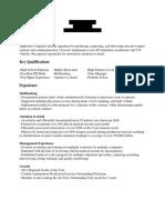 It Resume (Redacted)