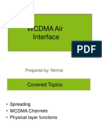 WCDMA Air Interface