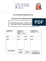 proyecto ORGANIZACIONAL