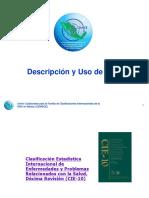 Presentacion Cie Descripcion y Uso
