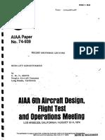 AMO Smith High Lift AIAA Paper