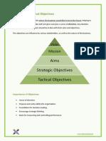1.3 - Organisational Objectives