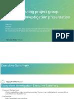 MEC Ecosystem Investigation Tiger Team 11092017 Updated
