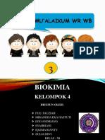 PPT BIOKIMIA