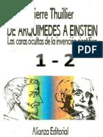 Pierre Thuiller- De Arquimedes a Einstein-Alianza