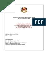 Pekeliling Kemajuan Pentadbiran Awam Bil 1/2003 - Tatacara Penggunaan Internet & Mel Elektronik