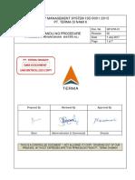 1. QP-STR-01 - Penangan Barang Atau Material