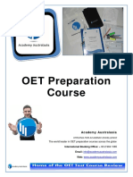 Oet Preparation International Booklet 3