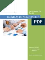 Tecnicas de Negociacion _ Tarea Grupal 0002