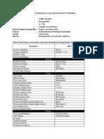 Laporan Sementara Karakterisasi Kelas Reguler