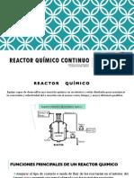 Reactores Químicos II