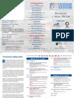 Programa VI Congreso nacional Periodismo Sanitario ANIS