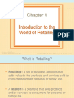 Introduction to Retail Marketing