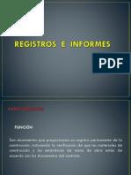 1.3 Registros e Informes
