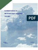 Elementi Base Di Meteorologia Generale Maggio 2014 Vol 1