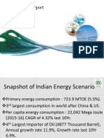 Energy Security Challenges & Opportunities in India- Vivek