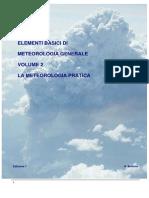 Elementi Base Di Meteorologia Generale Maggio 2014 Vol 2