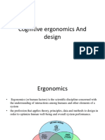Cognitive Ergonomics and Design (1)