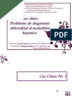 Diagnostic diferential + autoimun