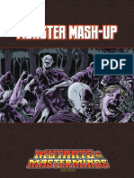 Mutants Masterminds Adventure Monster Mash Up
