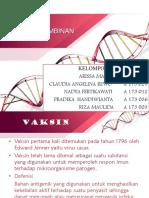 Vaksin Rekombinan Kelompok 3-Fix