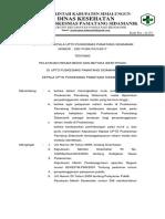 Sk Pelayanan Rekam Medis Dan Metoda Identifikasi