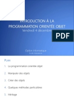 09-Introduction a La Programmation Orientee Objet