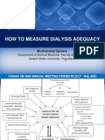 How to Measure Dialysis Adequacy - Edit 3