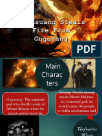 HOW ASUANG STEALS FIRE FROM GUGURANG (story elements)