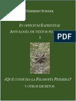 Boeder, Heribert. in Officium Sapientiae I[1]