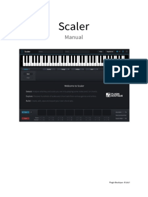 Scaler User Manual | Music Theory | Elements Of Music