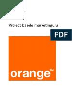Bazele Marketingului - Orange