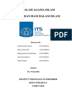 Makalah Agama Islam Cover