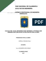 Modelo Informe Ing. Leon - Primer Informe Centrales