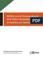 Hazardous Drugs List 2016 161