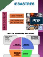 V Clase de Defensa Nacional Desastres Naturales