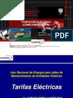 A-2 Tarifas Electricas (Clase Complemento)