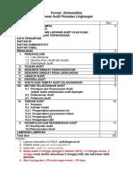 Laporan Audit Format