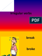 Irregular Verb Game Games 20407