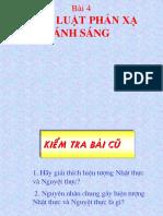 Bai 4 Dinh Luat Phan Xa Anh Sang