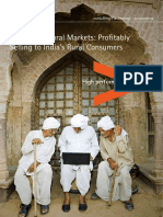 Accenture Masters of Rural Markets Selling Profitably Rural