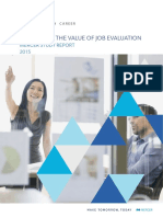 Mercer Maximising the Value of Job Evaluation