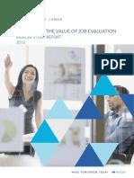 Mercer Maximising the Value of Job Evaluation