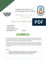 Ensayo Dureza Brinell