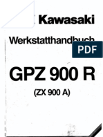 Kawasaki GPZ900R SM German