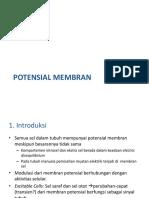 MEMBRAN POTENSIAL