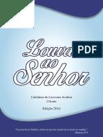Coletânea de Louvores Avulsos 2016 Cifrada