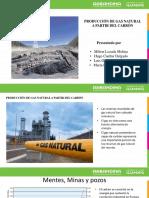 Producción de Gas Natural a Partir Del Carbón(1)