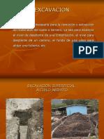 Excavaciones y Tipos de Suelo