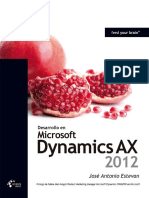 234639156 Desarrollo en Dynamics AX 2012 Jose Antonio Estevan Krasis Press Scribd PDF